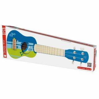 Mini Guitarra Ukelele Azul - Hape