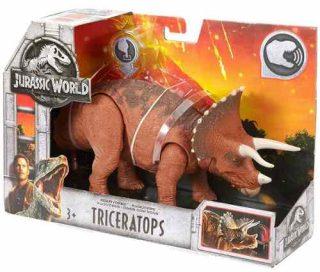 Dinosaurio Triceratops Con Sonido - Jurassic World