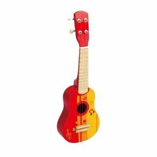 Mini Guitarra Ukelele Roja - Hape