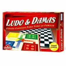 Ludo y Damas Juegos Clásico - Didacta