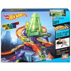 Hot Wheels - Pista Laboratorio Color Shifters