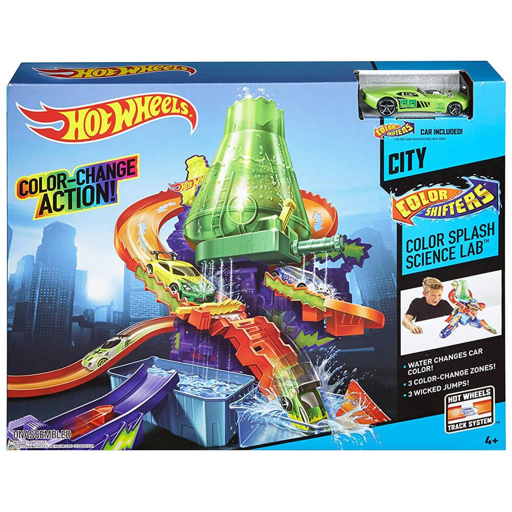 Hot Wheels Pista Laboratorio Color Shifters Toy Store