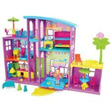 Polly Pocket - Mega casa de muñecas