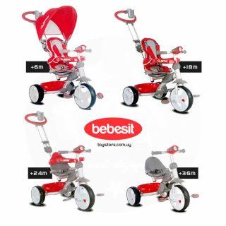 Triciclo Astro con Guía 4 en 1 - Bebesit