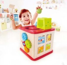 Cubo De Actividades Para Niños - Hape