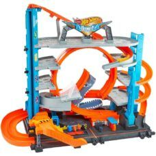 Pista Mega City Ultimate Garage - Hot Wheels