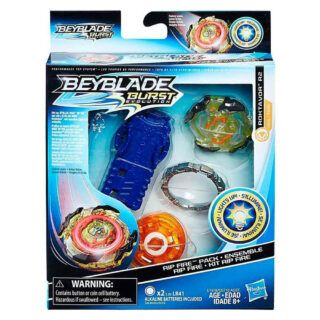 Beyblade Burst Kit Rip Fire ROKTAVOR R2 con luces