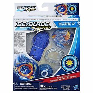 Beyblade Burst Kit Rip Fire Valtryek V2 con luces