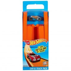 Pista Tramo 4,5 mts con auto - Hot Wheels