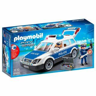 Auto Policia con Luces y Sonidos - Playmobil 6920