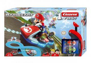 Pista Mario Kart 8 a batería, 2.4 mts - Carrera First