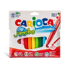 Marcadores Gruesos Jumbo X12 - Carioca