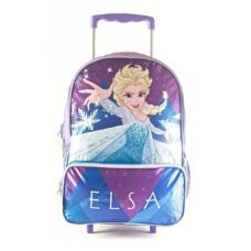 Frozen - Mochila Elsa 40 cm con carro