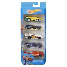 Hot Wheels - Pack x 5 Autitos