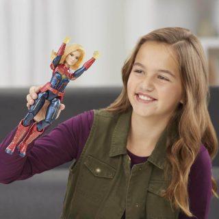 Capitana Marvel - Figura de Acción 30cm Electrónica
