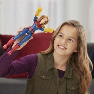 Capitana Marvel - Figura de Acción 30cm