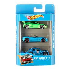 Hot Wheels - Pack de 3 Autitos