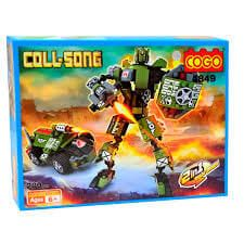 Cogo - Robot Transformable 200 Piezas