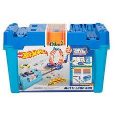 Pista Caja Multiacrobacias - Hot Wheels